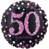 Pallone 50 anni sparkling fucsia
