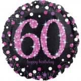 Pallone 60 anni sparkling fucsia