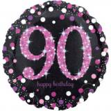 Pallone 90 anni sparkling fucsia