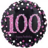 Pallone 100 anni sparkling fucsia