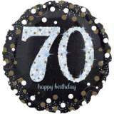 Pallone 70 anni sparkling oro & argento