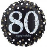 Pallone 80 anni oro & argento