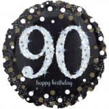Pallone 90 anni sparkling oro & argento