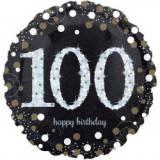 Pallone 100 anni sparkling oro & argento