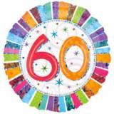 Pallone 60 anni iridescente