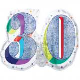 Pallone 30 anni oleografico doppio