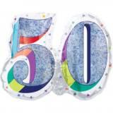 Pallone 50 anni oleografico doppio