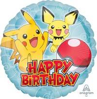 Pallone pokemon h. birthday