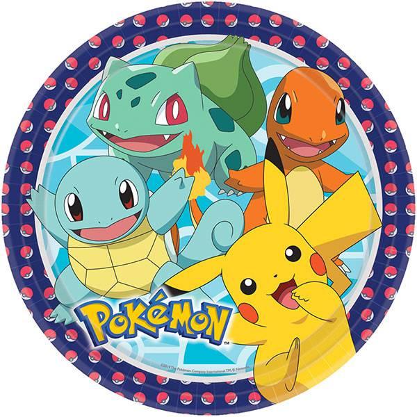 Coordinato piatto pikachu pokemon