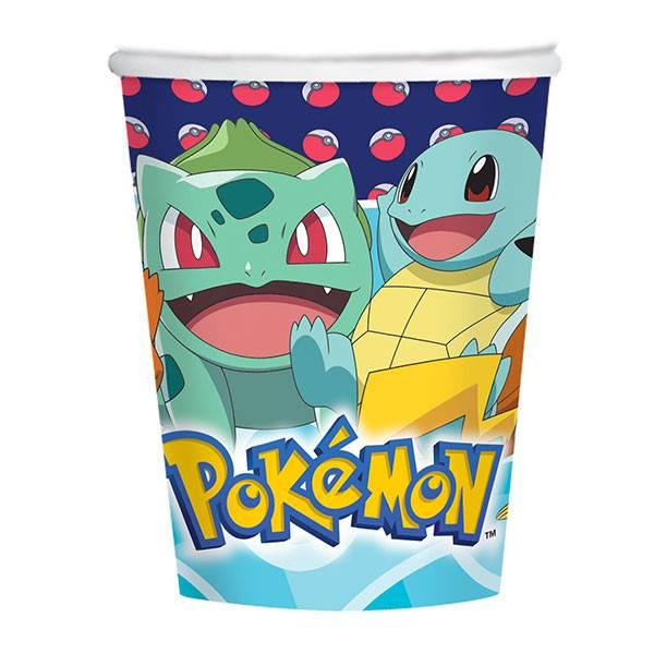 Bicchiere pikachu pokemon